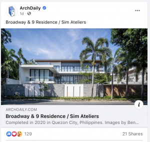 archdaily project feature from sim atelier